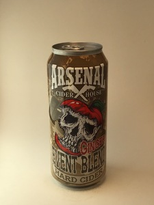 **LOCAL** Arsenal Cider House - Ginger (16oz Can)